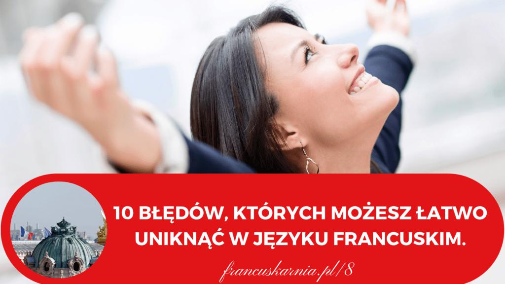 10 bledow w języku francuskim